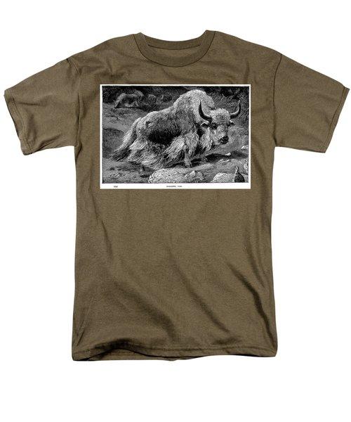 YAK Men's T-Shirt  (Regular Fit) by Granger