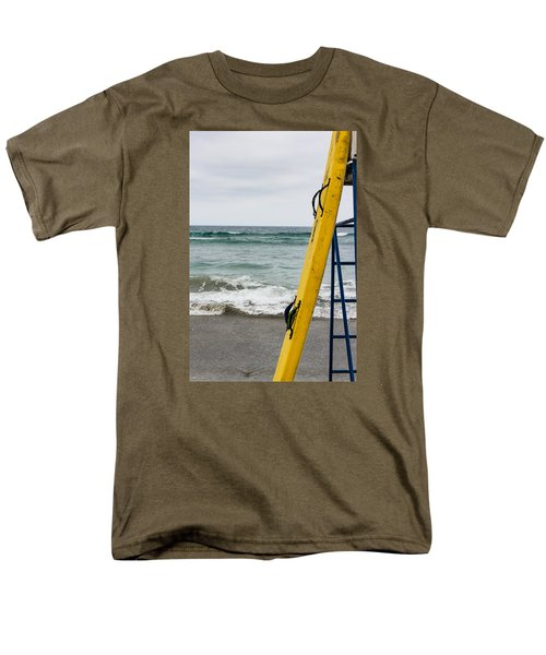 Yellow At The Ready Men's T-Shirt  (Regular Fit) by Randy Bayne