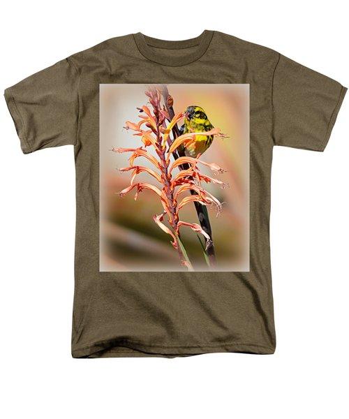 Yellow Bird Hi Men's T-Shirt  (Regular Fit) by AJ Schibig