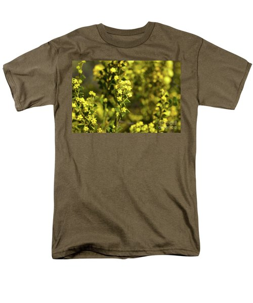 Yellow Blooms Men's T-Shirt  (Regular Fit) by Cassandra Buckley