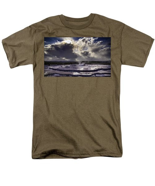 Yellowstone Geysers And Hot Springs Men's T-Shirt  (Regular Fit) by Jason Moynihan
