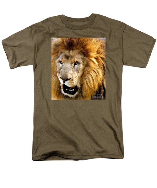 You Talkin To Me Men's T-Shirt  (Regular Fit) by Christy Ricafrente