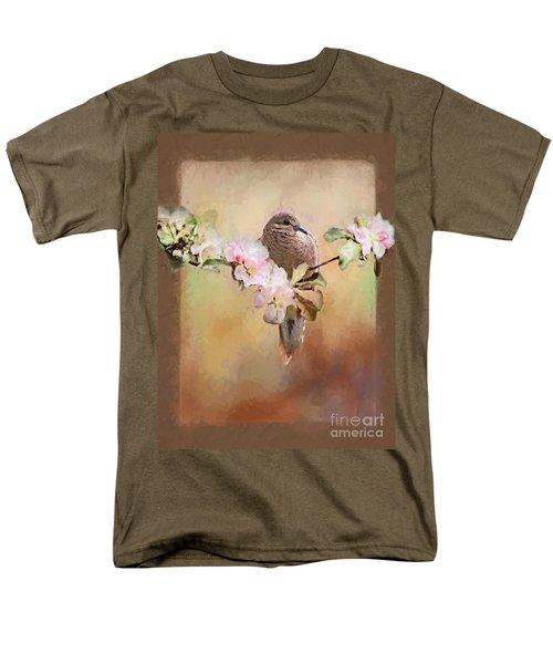 Young Morning Dove Men's T-Shirt  (Regular Fit) by Suzanne Handel