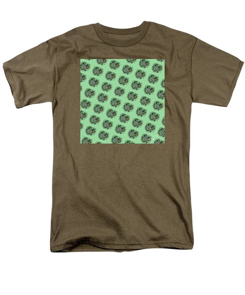 Zebra Illustration Pattern Men's T-Shirt  (Regular Fit) by Saribelle Rodriguez