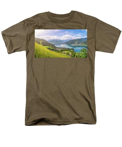 Zell Am See - Alpine Beauty Men's T-Shirt  (Regular Fit) by JR Photography