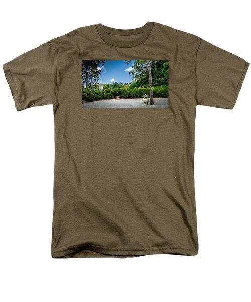 Zen Garden Men's T-Shirt  (Regular Fit) by Louis Ferreira