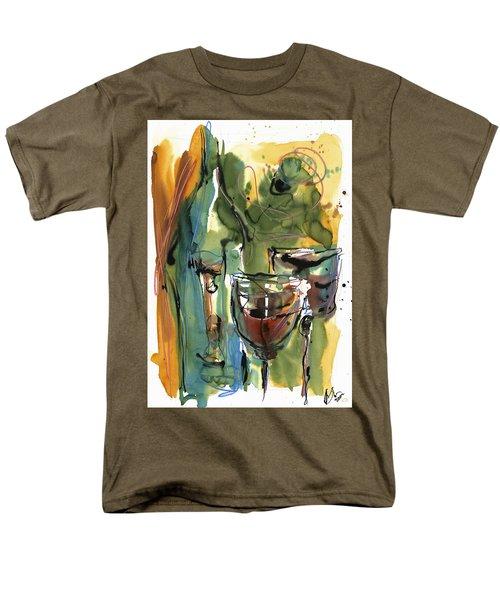 Men's T-Shirt  (Regular Fit) featuring the painting Zin-findel by Robert Joyner