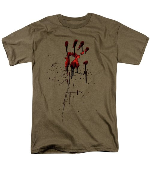 Zombie Attack - Bloodprint Men's T-Shirt  (Regular Fit) by Nicklas Gustafsson