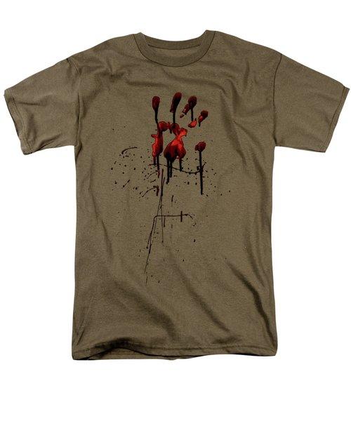 Zombie Attack - Bloodprint Men's T-Shirt  (Regular Fit)