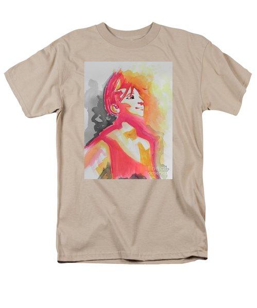 Barbra Streisand Men's T-Shirt  (Regular Fit) by Chrisann Ellis