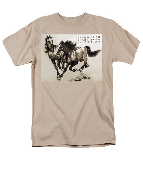 Men's T-Shirt  (Regular Fit) featuring the photograph  Companionship by Yufeng Wang
