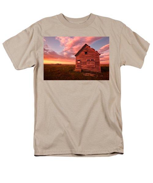 Men's T-Shirt  (Regular Fit) featuring the photograph  No Trespassing by Ronda Kimbrow