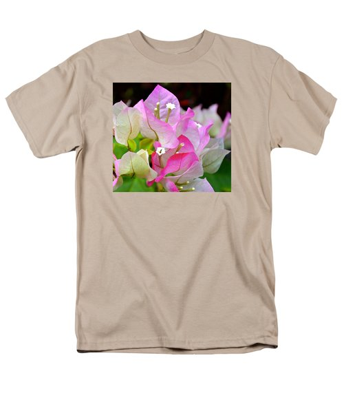 Pink  Bougainvillea ...with A Friend Men's T-Shirt  (Regular Fit) by Lehua Pekelo-Stearns