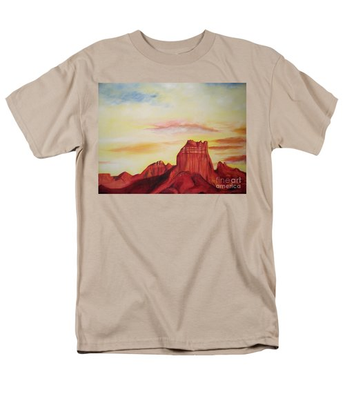 Men's T-Shirt  (Regular Fit) featuring the painting  Sedona Az by Eric  Schiabor