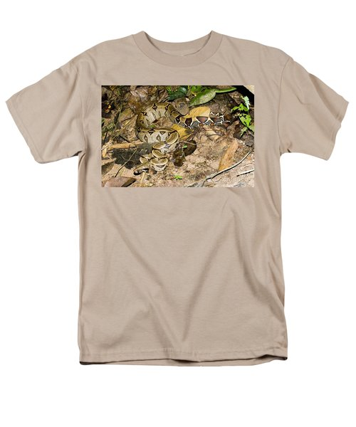 Boa Constrictor Men's T-Shirt  (Regular Fit) by Gregory G. Dimijian, M.D.