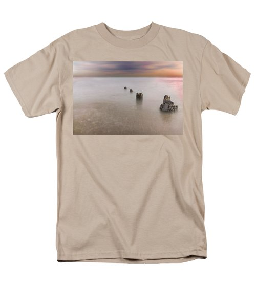 Breakwater Men's T-Shirt  (Regular Fit) by Peter Lakomy