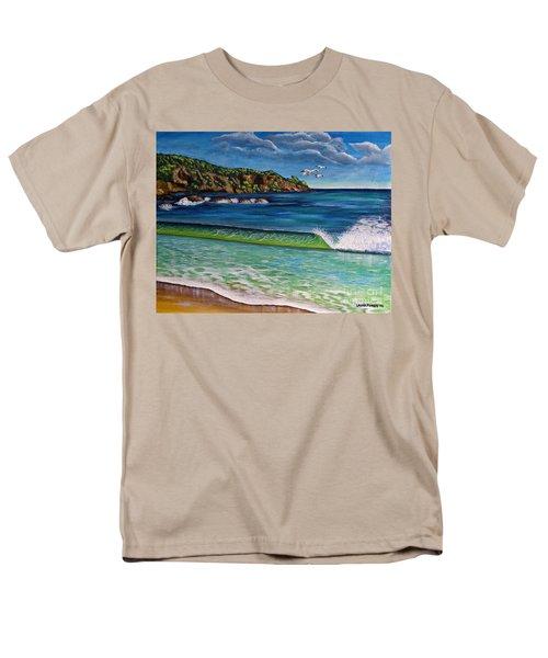 Crashing Wave Men's T-Shirt  (Regular Fit)