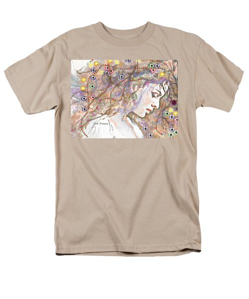 Men's T-Shirt  (Regular Fit) featuring the digital art Daisy Chain by Kim Prowse