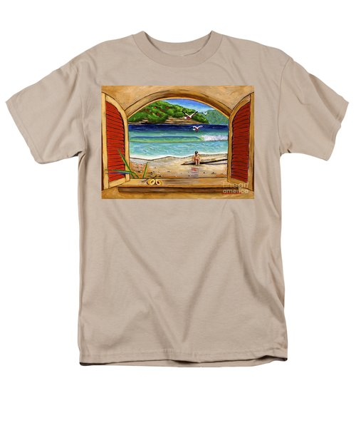 Deep In Thought Men's T-Shirt  (Regular Fit)