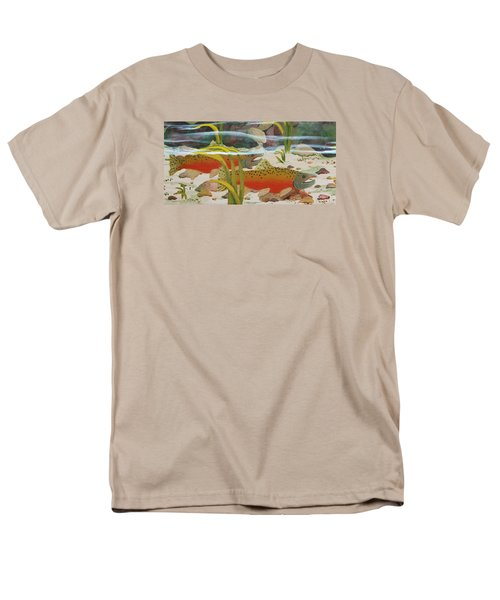 Salmon Men's T-Shirt  (Regular Fit) by Katherine Young-Beck