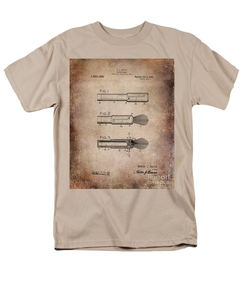 Shaving Brush Diagram 1920  Men's T-Shirt  (Regular Fit)