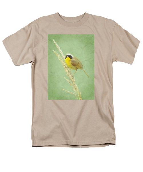Men's T-Shirt  (Regular Fit) featuring the digital art Spring In The Marsh by I'ina Van Lawick