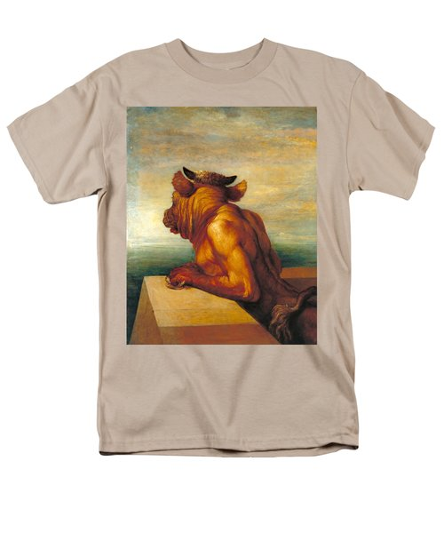 The Minotaur Men's T-Shirt  (Regular Fit) by George Frederic Watts