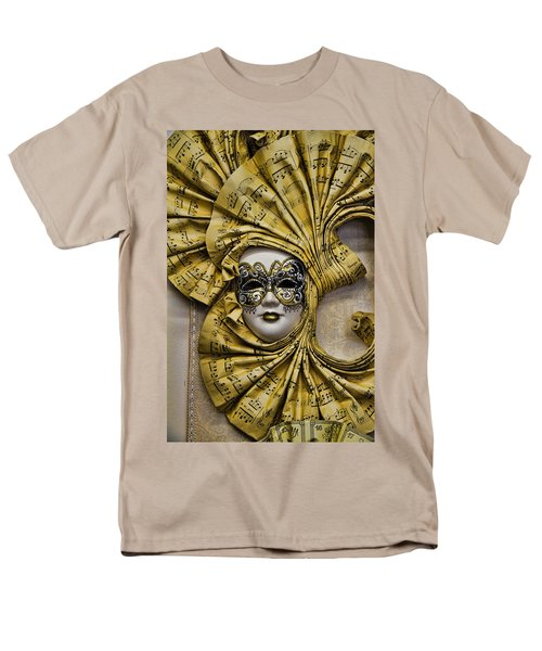Venetian Carnaval Mask Men's T-Shirt  (Regular Fit) by David Smith