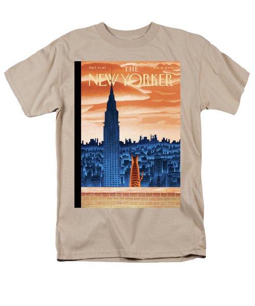 New Yorker January 12th, 2009 Men's T-Shirt  (Regular Fit)