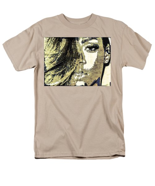 Rihanna Men's T-Shirt  (Regular Fit) by Svelby Art