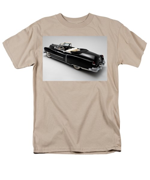 Men's T-Shirt  (Regular Fit) featuring the photograph 1950 Black Cadillac Convertible by Gianfranco Weiss