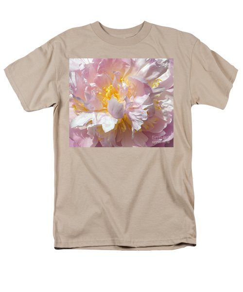 Men's T-Shirt  (Regular Fit) featuring the photograph Flirtatious Pink by Lilliana Mendez
