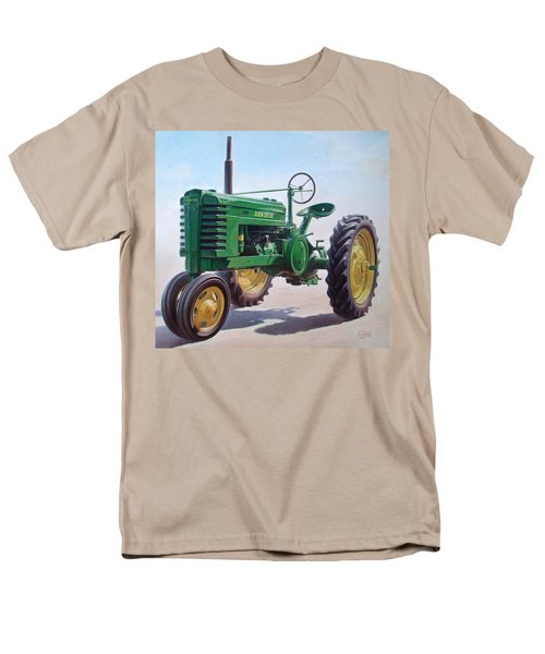 John Deere Tractor Men's T-Shirt  (Regular Fit) by Hans Droog