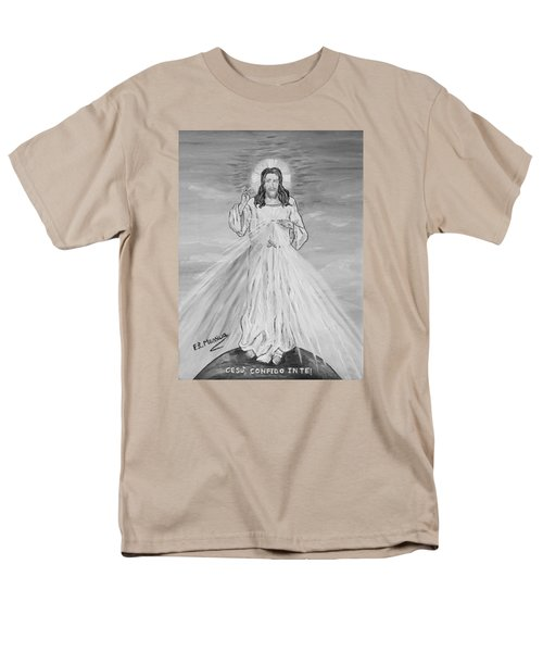 Men's T-Shirt  (Regular Fit) featuring the painting L'amore by Loredana Messina