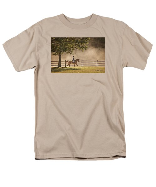 Men's T-Shirt  (Regular Fit) featuring the photograph Last Ride Of The Day by Joan Davis
