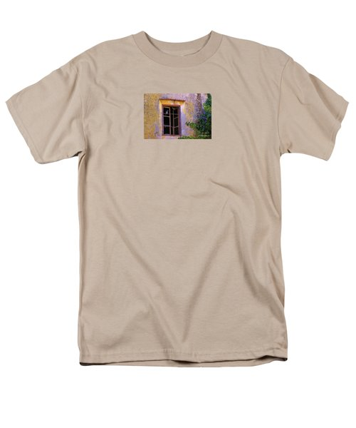 Men's T-Shirt  (Regular Fit) featuring the photograph Pigeons And Morning Glories by Michele Penner