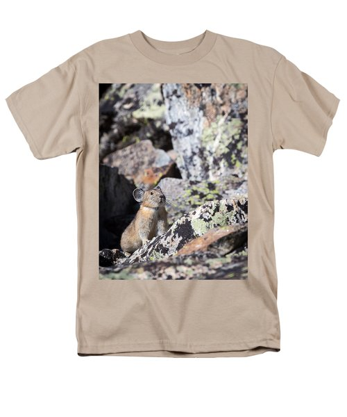 Pika Men's T-Shirt  (Regular Fit)