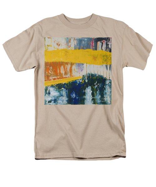Raw Energy Men's T-Shirt  (Regular Fit) by Mini Arora