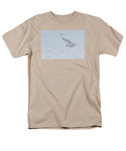 Men's T-Shirt  (Regular Fit) featuring the photograph Snowy Owl #2/3 by Patti Deters
