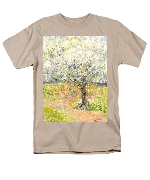 Spring Men's T-Shirt  (Regular Fit) by Evelina Popilian