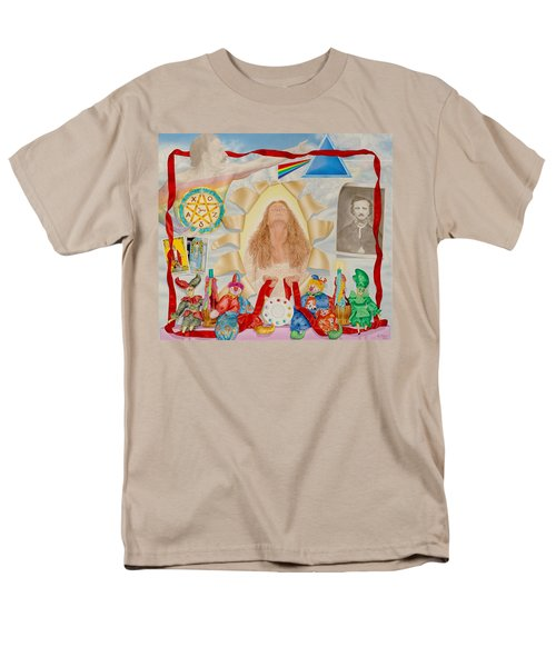 Invocation Of The Spectrum Men's T-Shirt  (Regular Fit) by Rich Milo