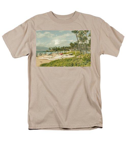 Wailea Beach Maui Hawaii Men's T-Shirt  (Regular Fit) by Sharon Mau