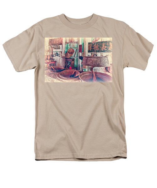 Men's T-Shirt  (Regular Fit) featuring the photograph 3-wok Kitchen by Jim Thompson