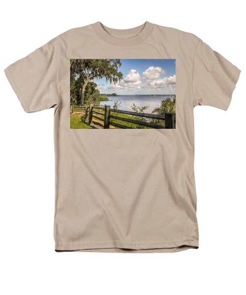 Men's T-Shirt  (Regular Fit) featuring the photograph Philippe Park by Jane Luxton