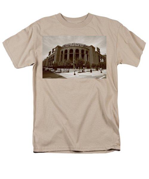 Busch Stadium - St. Louis Cardinals Men's T-Shirt  (Regular Fit) by Frank Romeo