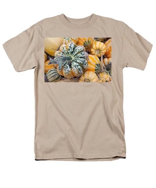 A Carnival Of Squash Men's T-Shirt  (Regular Fit) by Minnie Lippiatt
