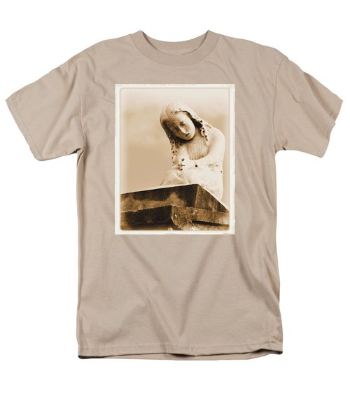 Men's T-Shirt  (Regular Fit) featuring the photograph A Child's Prayer by Nadalyn Larsen
