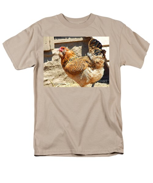 A Day At The Farm Men's T-Shirt  (Regular Fit) by Cindy Manero
