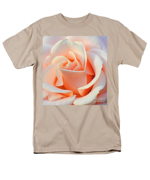 A Delicate Rose Men's T-Shirt  (Regular Fit) by Cindy Manero