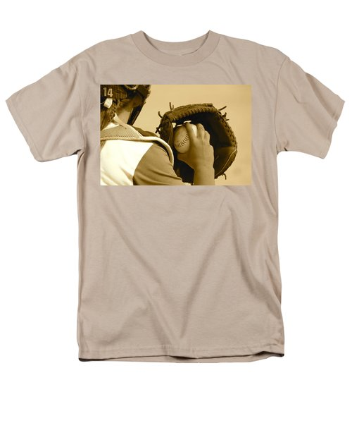 A Game Of Catch Men's T-Shirt  (Regular Fit) by Laddie Halupa
